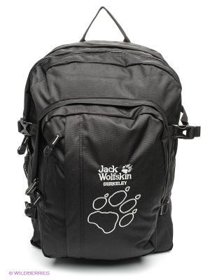 Рюкзак BERKELEY Jack Wolfskin. Цвет: черный