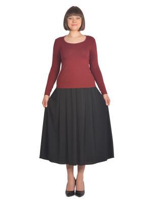 Кофточка Томилочка Мода ТМ. Цвет: бордовый