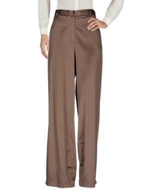 Повседневные брюки PAS DU TOUT. Цвет: хаки