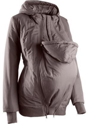 Куртка для беременных с двумя карманами (темно-синий) bonprix. Цвет: темно-синий