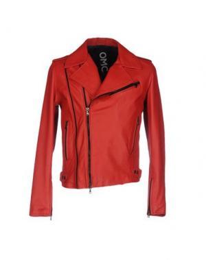 Куртка OMC. Цвет: красный