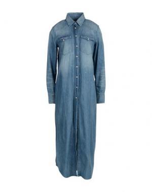Длинное платье ONEDRESS ONELOVE. Цвет: синий