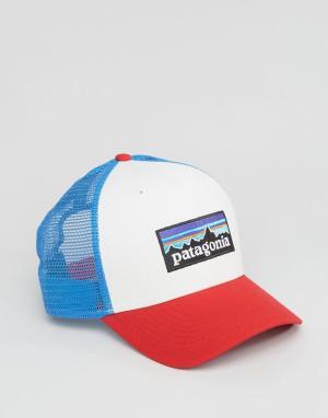 Patagonia Белая кепка с логотипом. Цвет: белый