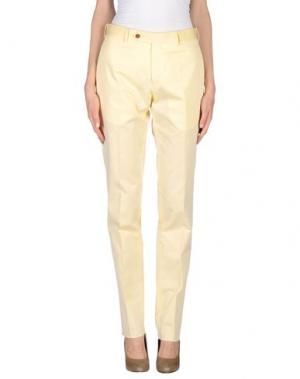 Повседневные брюки MARCO PESCAROLO. Цвет: бежевый