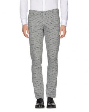 Повседневные брюки BARBATI. Цвет: светло-серый