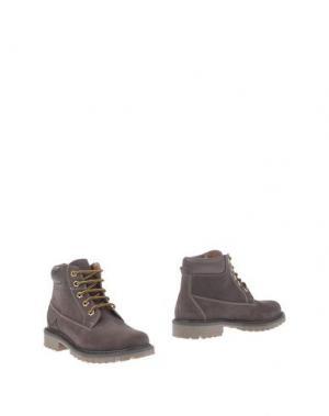 Полусапоги и высокие ботинки ANDREA MORELLI. Цвет: темно-коричневый