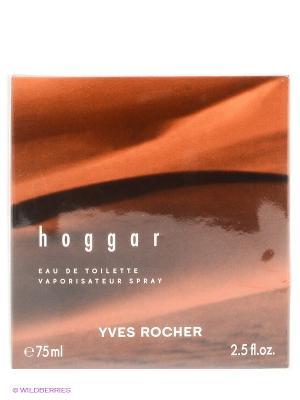 Туалетная вода Hoggar Yves Rocher. Цвет: коричневый