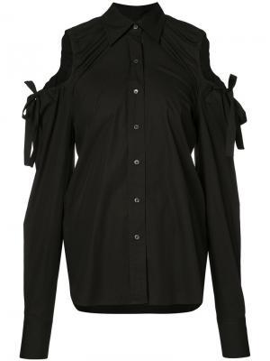 Блуза с вырезными деталями Robert Rodriguez. Цвет: чёрный