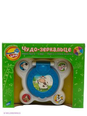 Электронная развивающая игрушка Чудо-Зеркальце MOMMY LOVE. Цвет: синий, белый