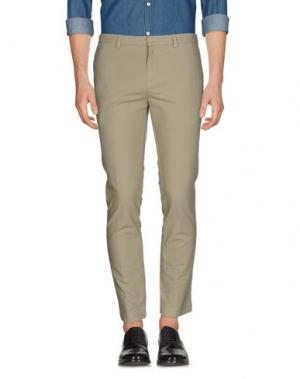 Повседневные брюки M.GRIFONI DENIM. Цвет: серый