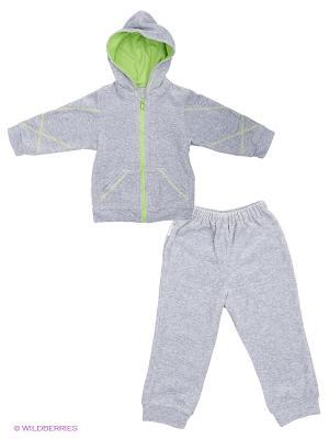 Комплект Hunny Mammy. Цвет: серый меланж, зеленый