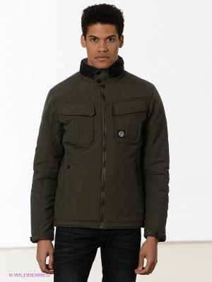 Куртка Duck and Cover. Цвет: оливковый