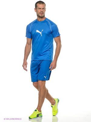 Шорты SMU Velize Shorts Puma. Цвет: синий