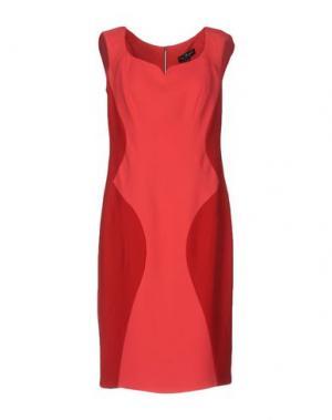 Платье до колена IVAN MONTESI. Цвет: фуксия