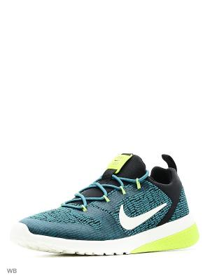 Кроссовки CK RACER Nike. Цвет: синий, желтый