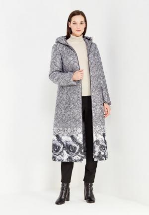 Куртка утепленная Brillare. Цвет: серый
