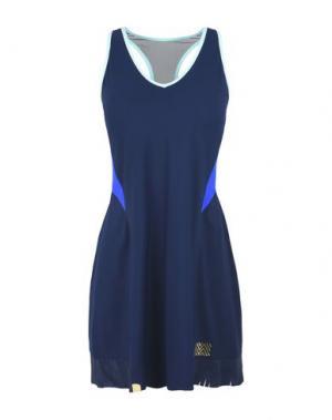 Короткое платье MONREAL LONDON. Цвет: темно-синий