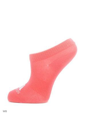 Носки взр. PER NO-SH T 6PP  RAYPNK/WHITE/JOY Adidas. Цвет: розовый, белый, серый, синий