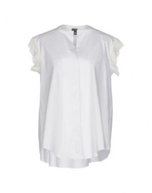 Pубашка LORENA ANTONIAZZI. Цвет: белый