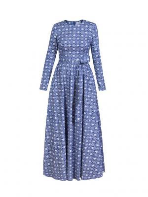 Платье макси хлопковое Bella kareema