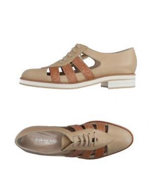Обувь на шнурках STEPHANE KÉLIAN. Цвет: песочный