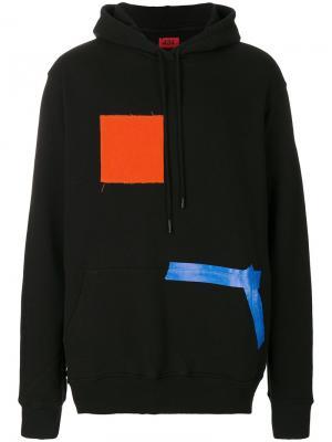Colour block hoodie 424 Fairfax. Цвет: чёрный