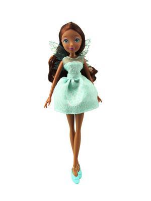 Кукла Winx Club Мисс Винкс, Layla. Цвет: темно-коричневый, светло-зеленый