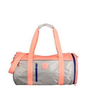 Дорожная сумка ROXY. Цвет: светло-серый