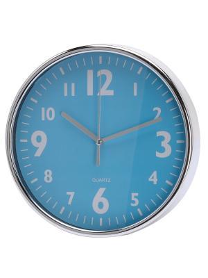 Часы настенные Mitya Veselkov. Цвет: голубой