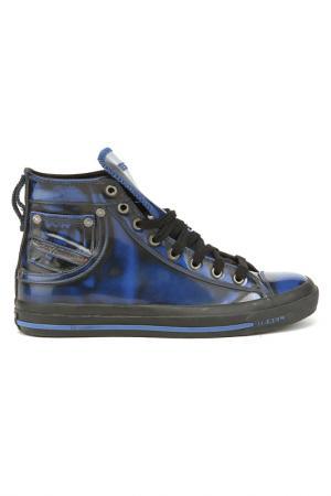 Ботинки для активного отдыха Diesel. Цвет: синий