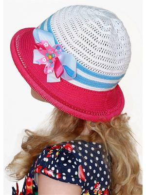 Шляпа Сиринга. Цвет: розовый,белый,голубой