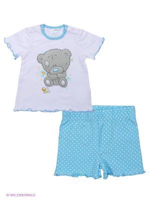 Пижама PlayToday. Цвет: голубой