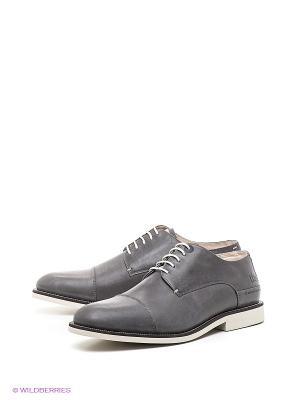 Туфли TBS. Цвет: серый