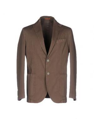 Пиджак MAESTRAMI. Цвет: хаки