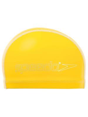 Детская шапочка для плавания Speedo. Цвет: голубой, желтый, оранжевый