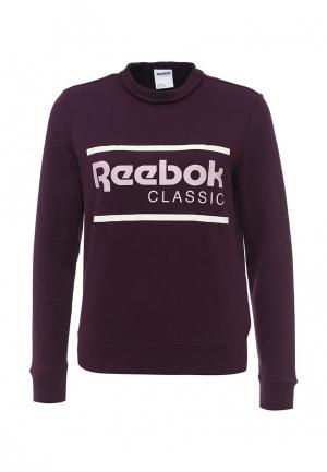 Свитшот Reebok Classics. Цвет: фиолетовый