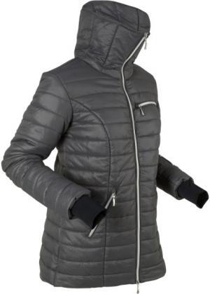 Стеганая куртка (шиферно-серый) bonprix. Цвет: шиферно-серый