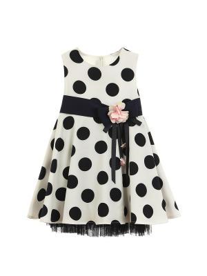 Комплект (Платье+брошь для девочки  lindissima) Lindissima
