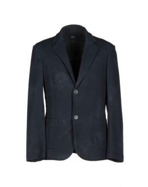 Пиджак WOOL & CO. Цвет: грифельно-синий