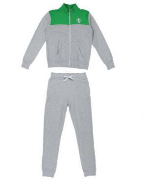 Спортивный костюм BIKKEMBERGS. Цвет: зеленый