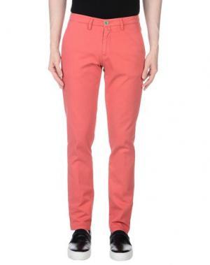 Повседневные брюки BARBATI. Цвет: красный