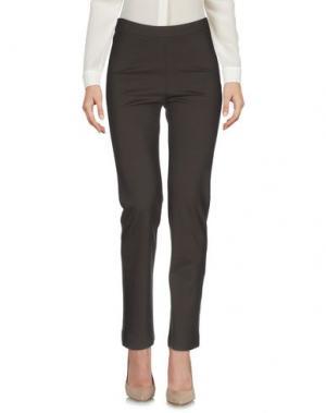 Повседневные брюки ALMERIA. Цвет: темно-коричневый