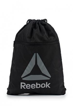 Мешок Reebok. Цвет: черный