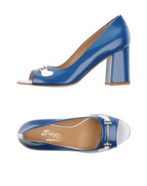 Туфли F.LLI BRUGLIA. Цвет: синий