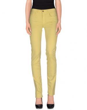 Повседневные брюки REBEL QUEEN. Цвет: кислотно-зеленый