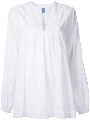 Блузка Ritual Macgraw. Цвет: белый