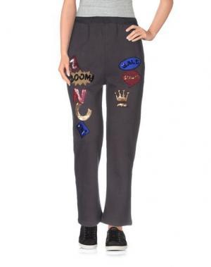Повседневные брюки NC.2 Paris. Цвет: стальной серый