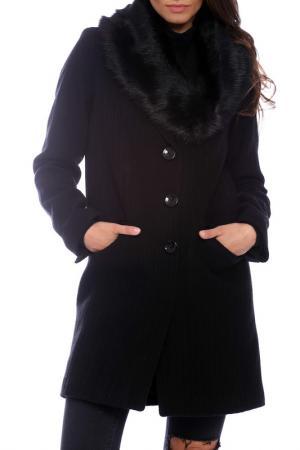 Coat Emma Monti. Цвет: black