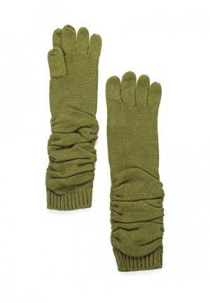 Перчатки Pur. Цвет: зеленый