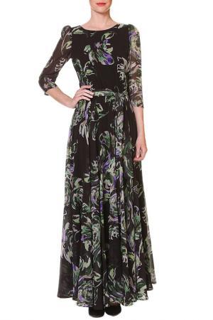 Платье макси SWEETME TM. Цвет: зеленый